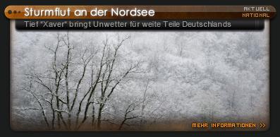 Wangerooge Hochwasser / Sturmflut 2011/12 Nordsee - YouTube